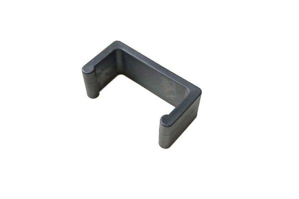 1x Verbindungsklammer Rundrattan schwarz