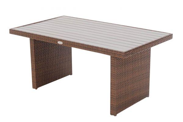 M# Tisch Vicenta-braun-meliert