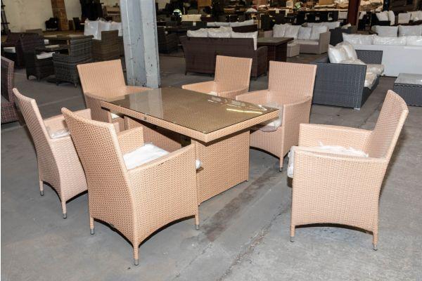 #HBM 2007: 6er Set Stuhl Avignon mit Tisch Fisolo