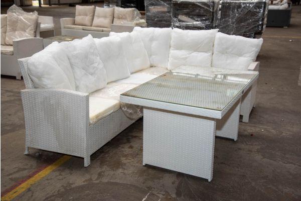 #HBM 2275: Sitzgruppe Minari weiß