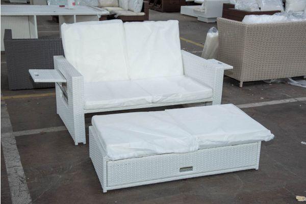 #HBM 2580: Sofa Ancona-weiß