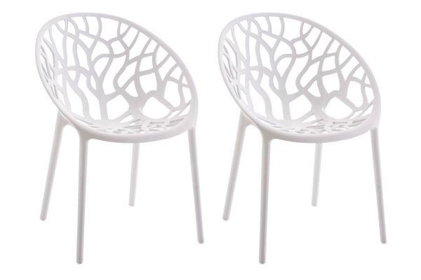 2er Set Stuhl Hope weiß