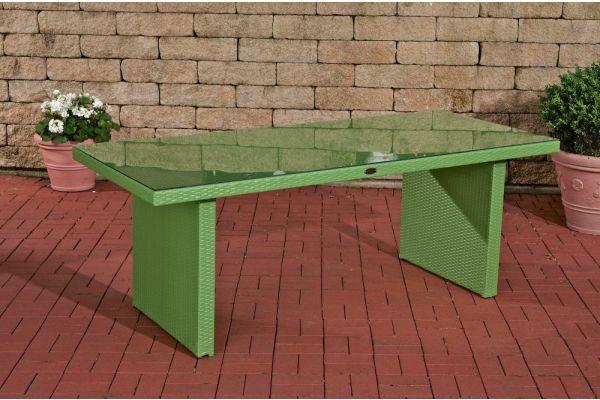 #G Tisch Avignon 180x90 cm grün