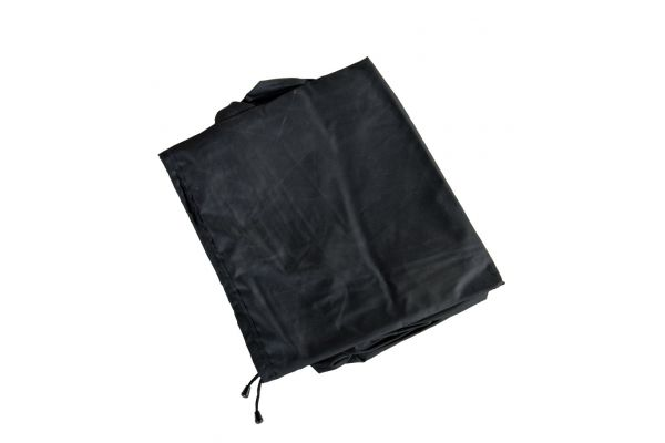 Abdeckhaube 375x165x68, Tessera schwarz