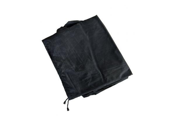 Abdeckhaube 90x90x113 schwarz