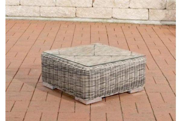 Beistelltisch Ariano 56x56 cm grau-meliert