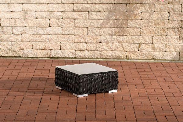 Beistelltisch Ariano 56x56 cm schwarz