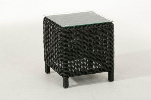 Glastisch Treviso 5mm schwarz