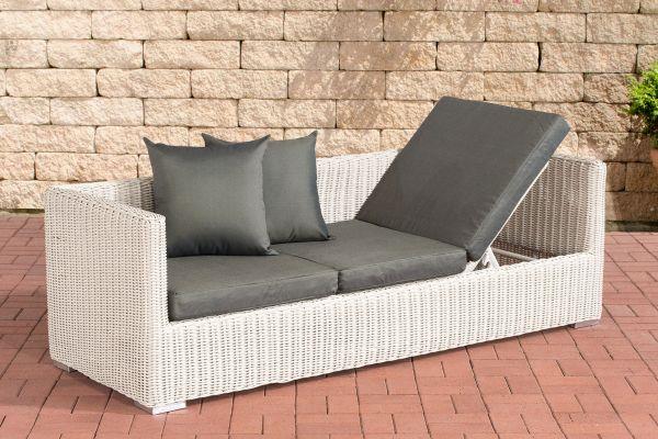 Lounge-Sofa Solano 5mm Anthrazit perlweiß