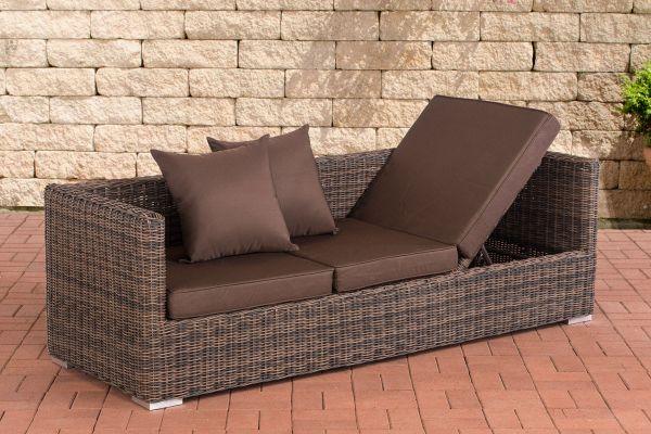 Lounge-Sofa Solano 5mm Terrabraun braun-meliert