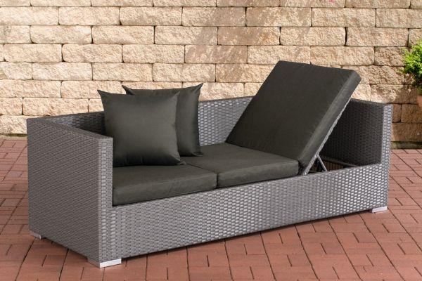 Lounge-Sofa Solano Anthrazit grau