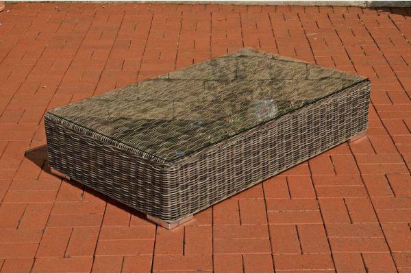 Lounge-Tisch Ariano 100 x 50 grau-meliert