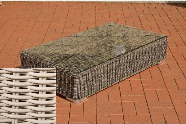 Lounge-Tisch Ariano 100 x 50 perlweiß