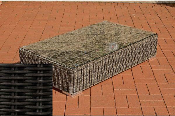 Lounge-Tisch Ariano 100 x 50 schwarz