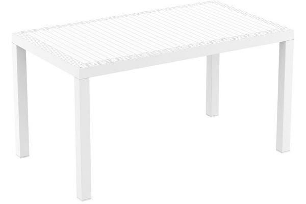 Outdoor-Tisch Orlando 80x140 weiß