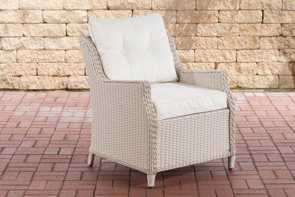 Sessel Pandora Cremeweiß perlweiß
