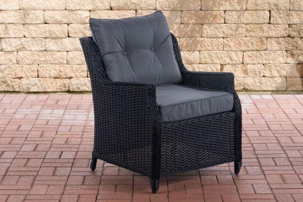 Sessel Pandora Eisengrau schwarz