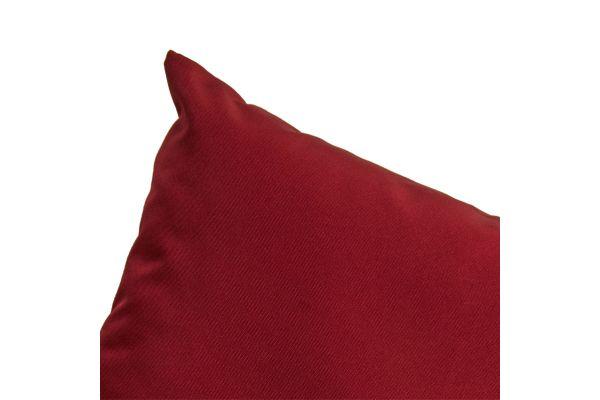 Set Kissenbezüge Santa Lucia rubinrot