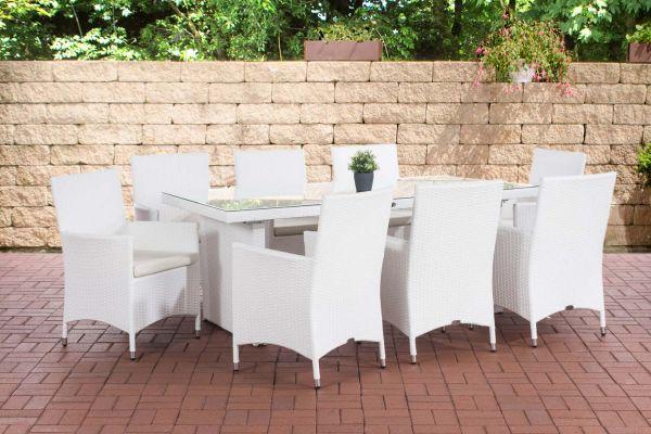 Sitzgruppe Avignon BIG Cremeweiß weiß