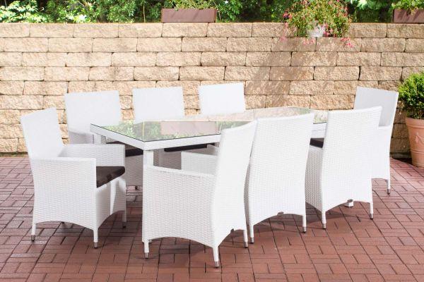 Sitzgruppe Florenz BIG Terrabraun weiß