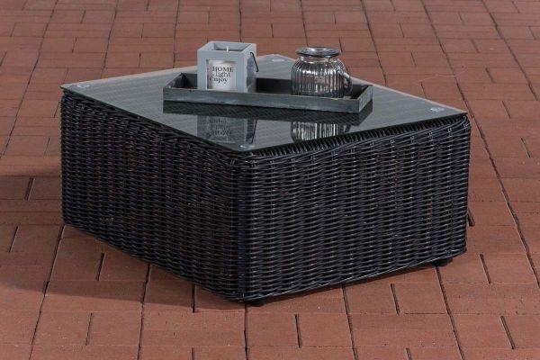 Sofa-Tisch Marbella 5mm schwarz