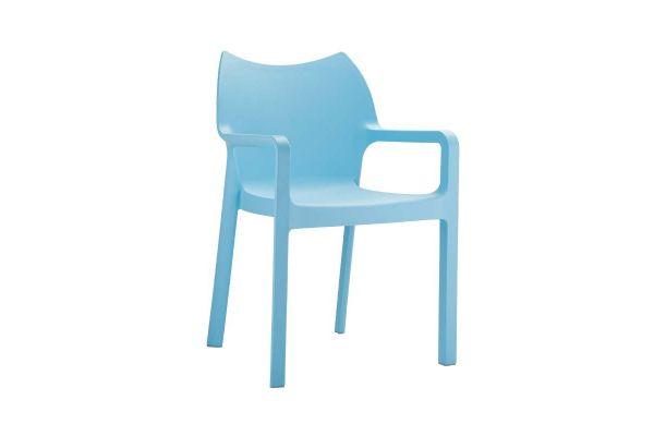 Stuhl DIVA hellblau