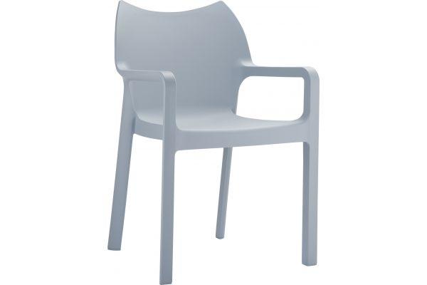 Stuhl DIVA hellgrau