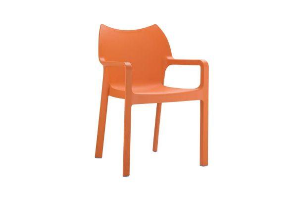 Stuhl DIVA orange
