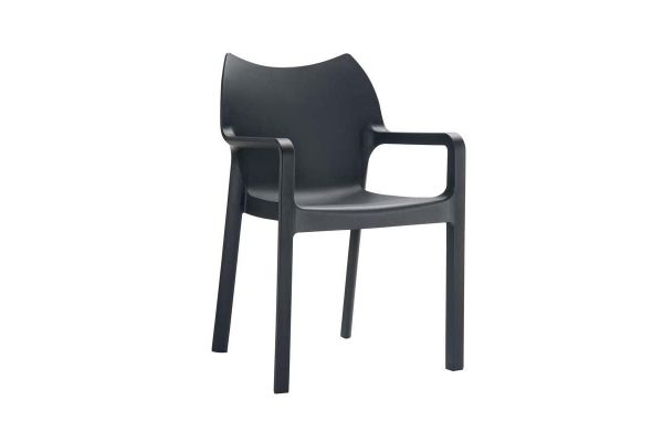 Stuhl DIVA schwarz