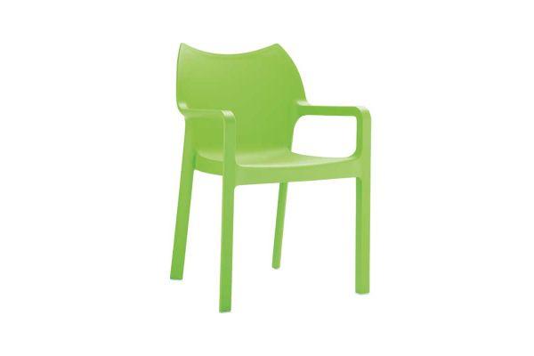 Stuhl Diva grün