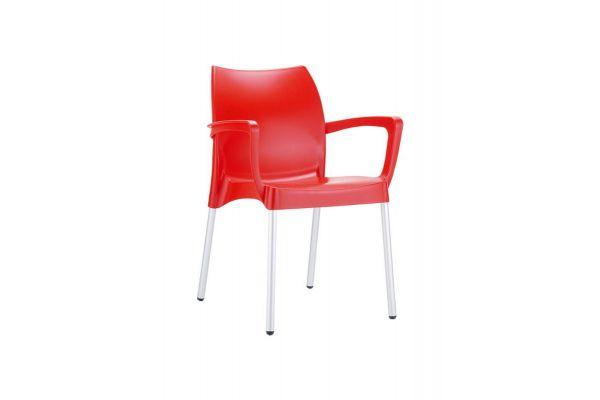 Stuhl Dolce rot