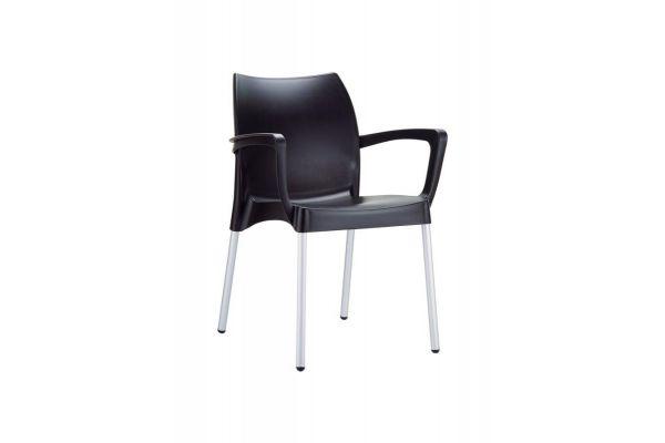 Stuhl Dolce schwarz
