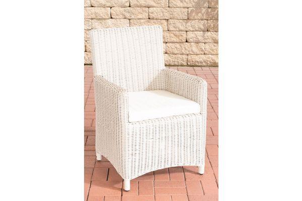 Stuhl Fontana / Sankt Marlo Cremeweiss 5mm perlweiß