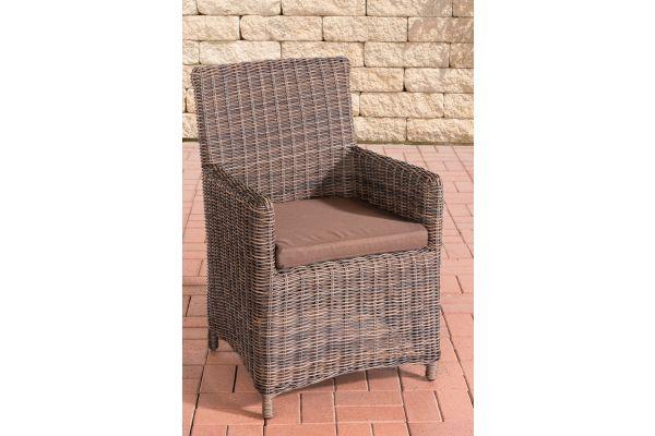 Stuhl Fontana / Sankt Marlo Terrabraun 5mm braun-meliert