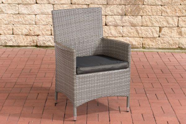 Stuhl Julia/Avignon/Tropea/Florenz Anthrazit grau