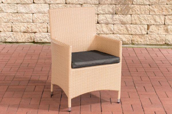 Stuhl Julia/Avignon/Tropea/Florenz Anthrazit sand