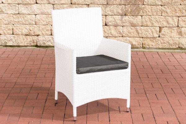 Stuhl Julia/Avignon/Tropea/Florenz Anthrazit weiß