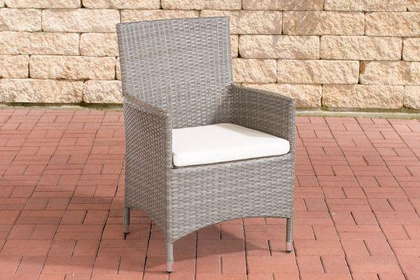 Stuhl Julia/Avignon/Tropea/Florenz Cremeweiß grau