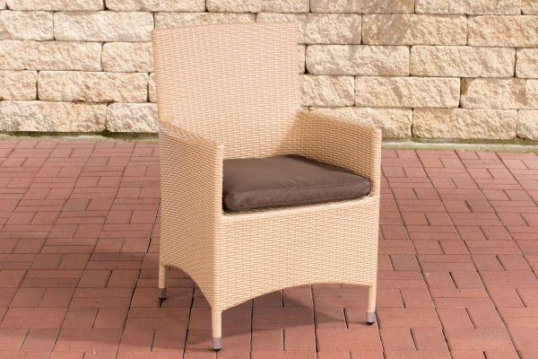 Stuhl Julia/Avignon/Tropea/Florenz Terrabraun sand
