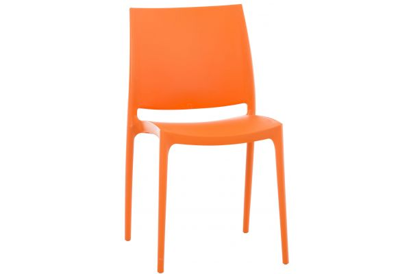 Stuhl MAYA orange