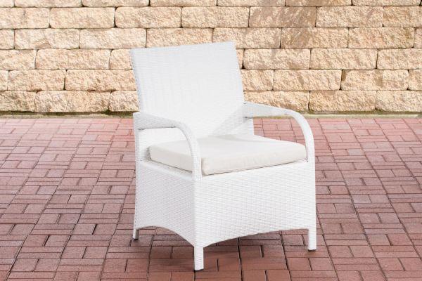 Stuhl Pizzo Cremeweiß weiß