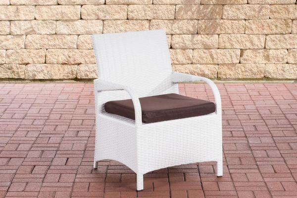 Stuhl Pizzo Terrabraun weiß