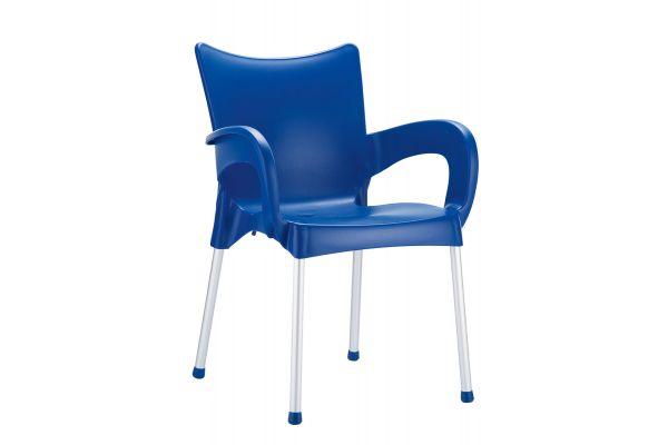 Stuhl Romeo blau