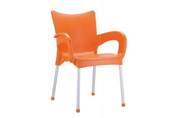 Stuhl Romeo orange