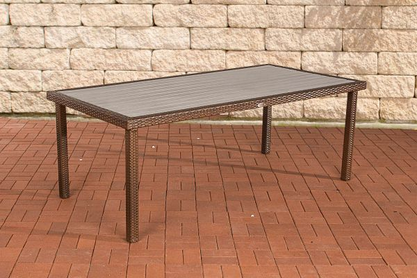 Tisch Alicante braun-meliert