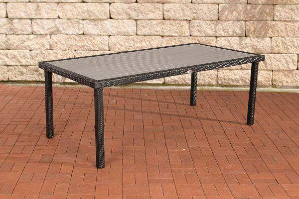 Tisch Alicante schwarz