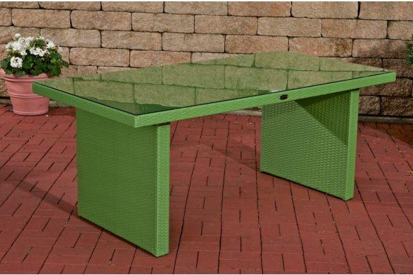 Tisch Avignon 180 cm grün