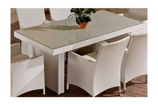 Tisch Avignon 180 cm weiß