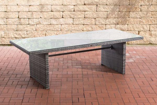 Tisch Avignon 220 cm grau-meliert