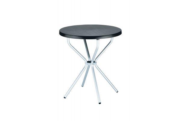 Tisch Elfo 70 cm schwarz